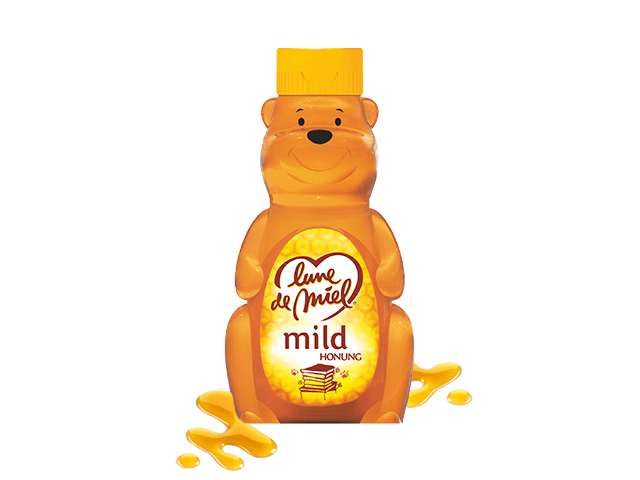 Söt honungsbjörn
