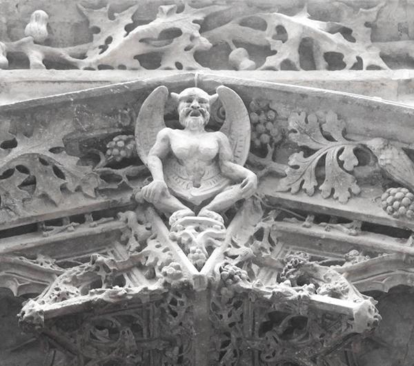 Baphomet sculpture