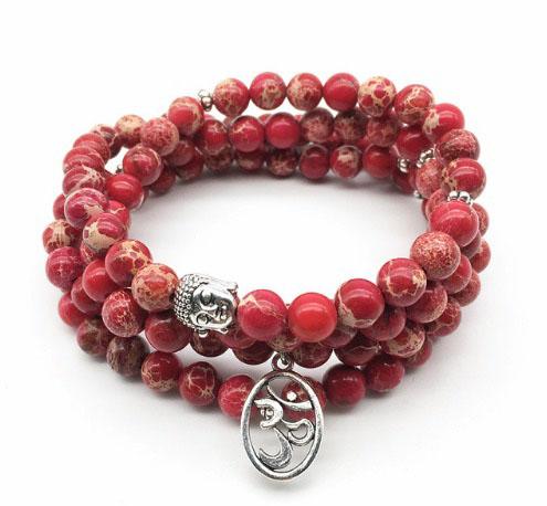 bracelet mala rouge regalite