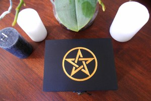boite pentacle or