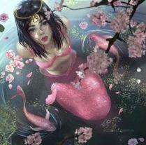sirène magique du Japon