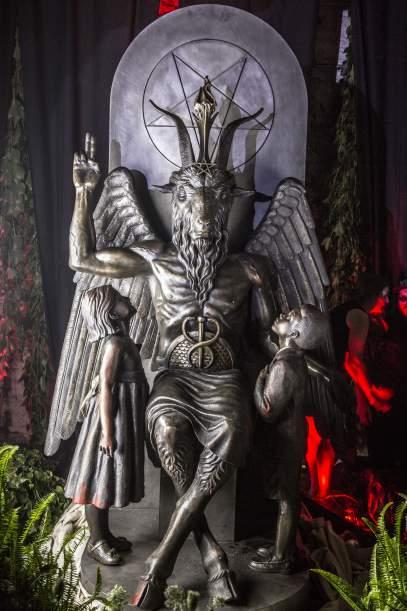 Sculpture de Baphomet