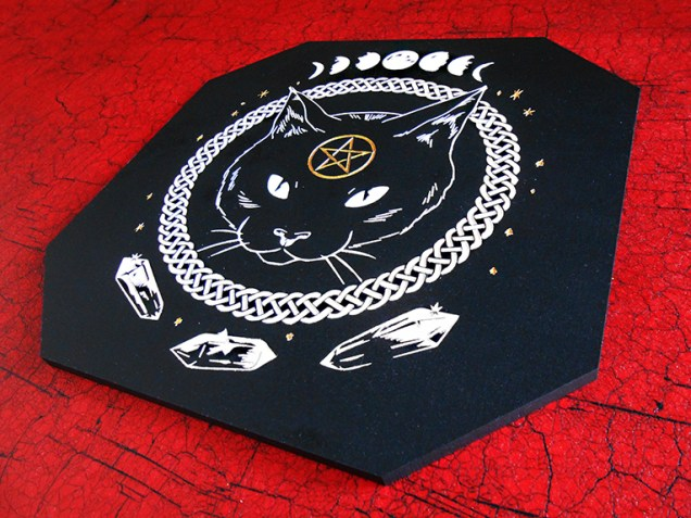 chat mystique et sorcières