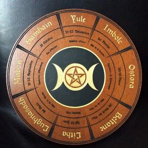 wicca roue de l'année