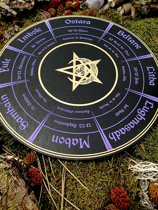 Wicca roue des sabbats
