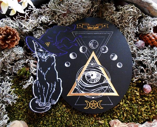 wicca autel ésotérique