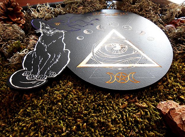 autel ésotérique Wicca