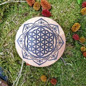 Fleur de vie Mandala mystique
