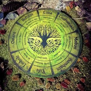 wicca gravure arbre de vie