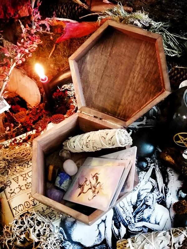 Morgana boîte Mystique