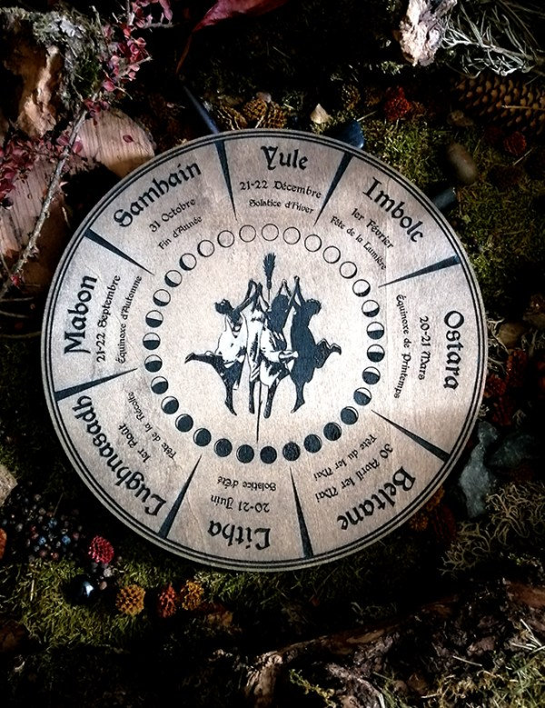 roue wicca witch