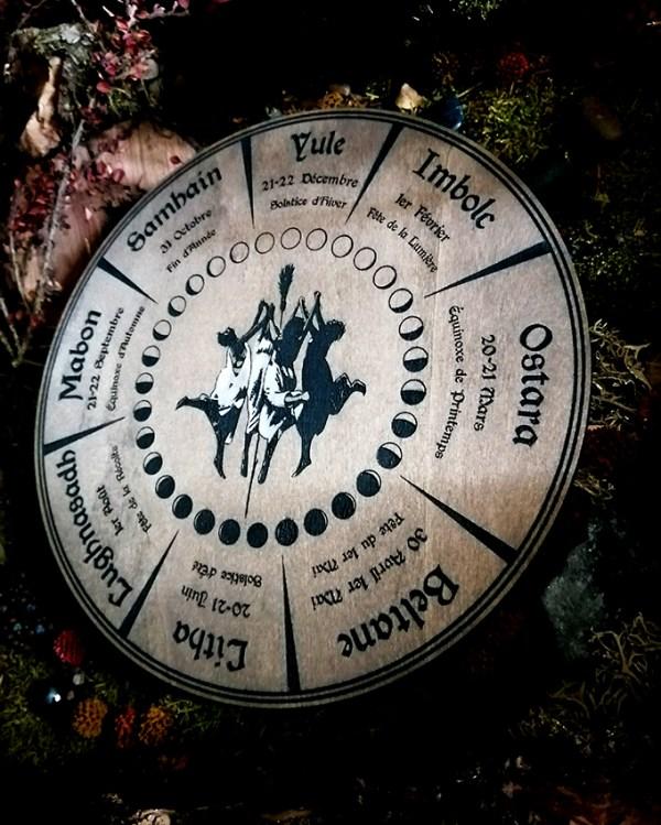 wicca roue de la vie