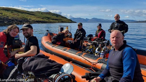 Scuba Diving trip with Lunesdale Club