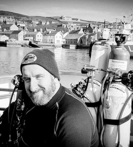 Rob Hewitt. Diving Officer