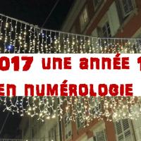 Année #2017, #année en #numérologie 1