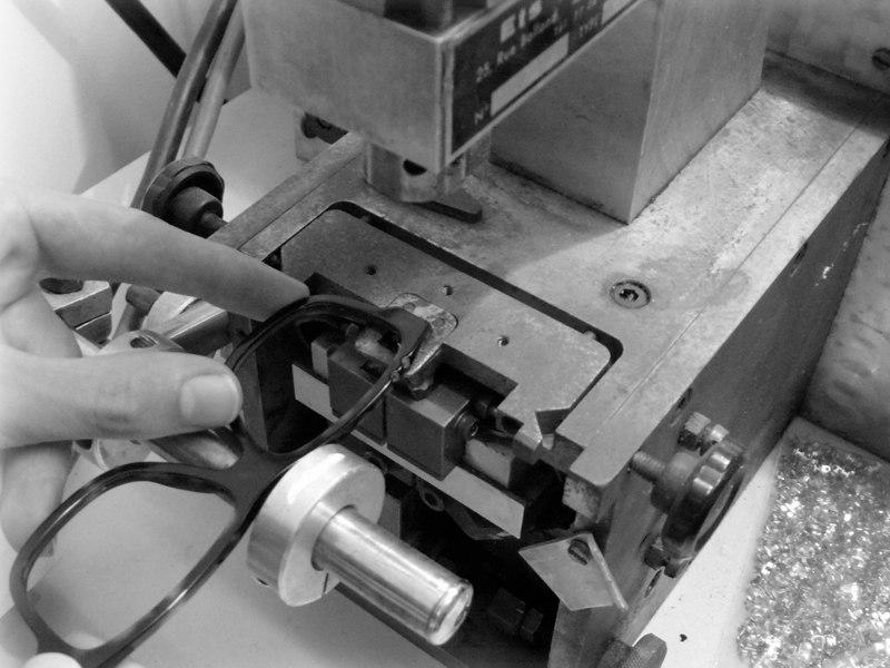 Lunettes arédiennes fabrication