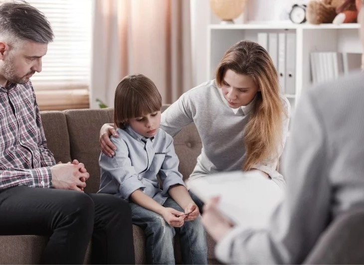 sjukdomsdrabbad familj