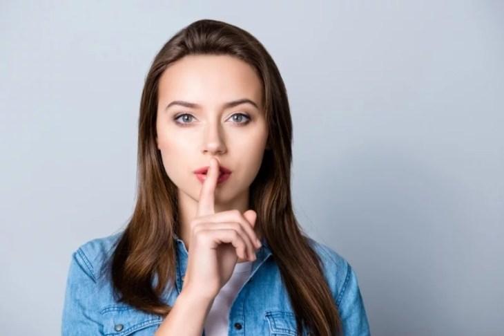 hålla en hemlighet