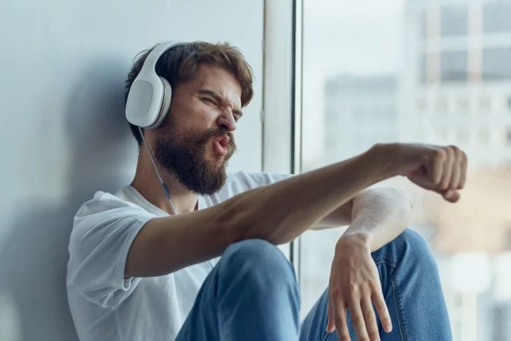 lyssna på musik
