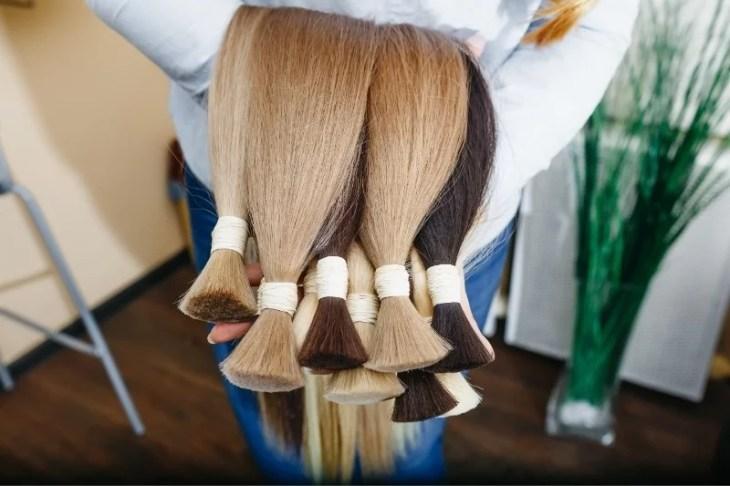 löshår hårförlängningar