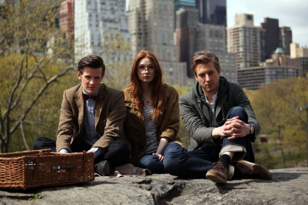 Doctor Who, Amy Pond e Rory