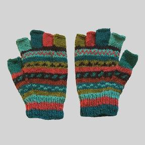 Woolen Cut-off Gloves