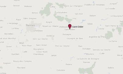 Localisation de Saint-Didier (35)