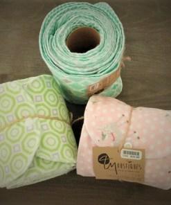 Rouleau papier hygienique réutilisable