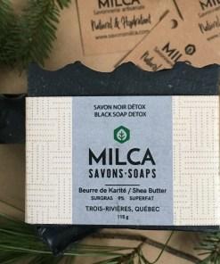 Savon noir detox MILCA
