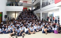 School assembly, Brunei