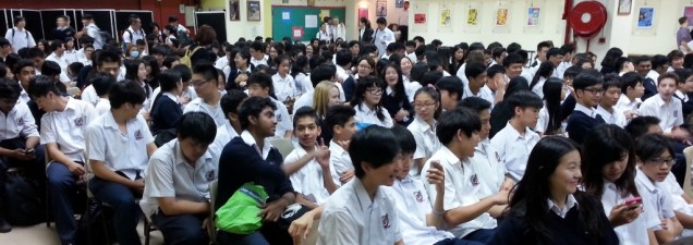 School assembly, Hong Kong