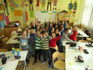 Primary class, Berlin, Germany