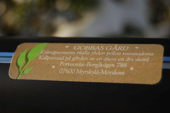 Gobbas Gårdin luomuherkkuja