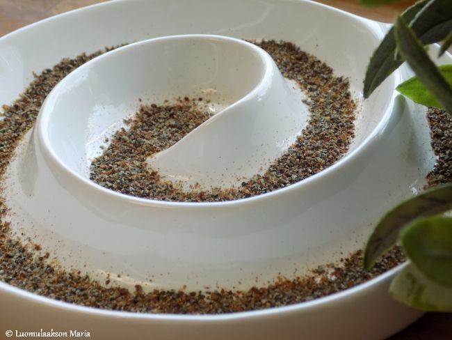 Mustikkaista kaurapuuroa kolmella tapaa
