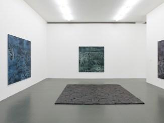 Irene Kopelman, 77 Colors of a Volcanic Landscape A, B, C (2016) and Puzzle Piece (2012) part of Irene Kopelman, a solo exhibition, Witte de With Center for Contemporary Art 2018, photographer Kristien Daem.