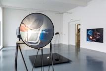 Oscar Santillan, Traverse #1, Traverse #2, Traverse #3, 2016 parte de la exposición Zaratán en el Witte de With Center for Contemporary Art, 2016, fotografía de Aad Hoogendoorn