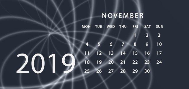 November blogs