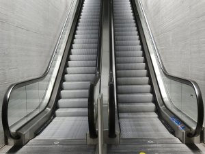 escalator ups and downs