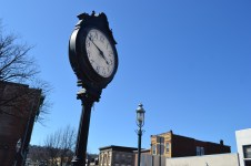 Title: Time. Caption: Shown here is a clock in the Village of South Orange in South Orange, NJ. Autoimmunity changes how one looks at time. Time is fleeting. On this bright sunny afternoon in South Orange, I was barely willing to let the seconds pass. Instead, after one battles autoimmunity, or anything really, it becomes natural to treasure each second, to live each moment with intention since each second was intentionally granted to us for a purpose. Since lupus is unpredictable and it's hard to know when we'll have a flare and not feel well, time must not be taken for granted, nor should sunny afternoons be allowed to just slip by. Capture the second and enjoy the moment. Photographer: B.F.