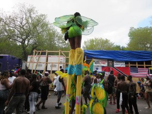 Title: The Stilt Man Caption: Living with SLE is a tall order. It can affect any organ in the body. It's unpredictable. You have to find the right doctor, the right medication, and maintain proper weight and vitamin D levels. Photographer: Elaine