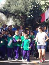 Ħriġna nakkumpanjaw lill-atleti huma u sejrin.