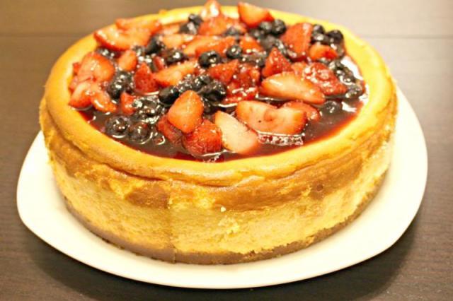 Ina Garten Berry cheesecake recipe