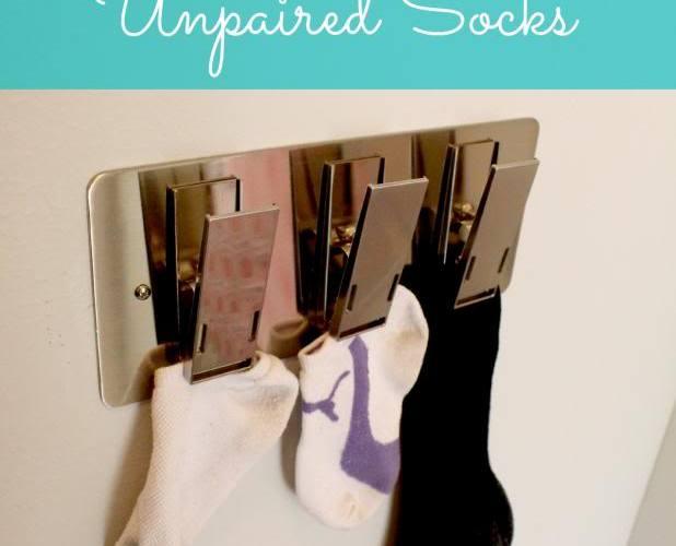 Organized: Unpaired Socks