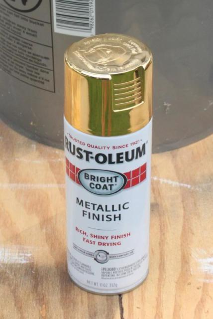 Gold Spray Paint Rustoleum