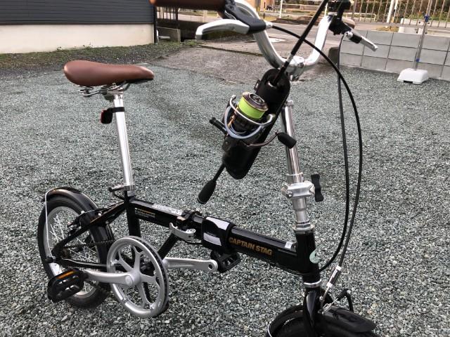 自転車 ロッドホルダー
