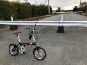自転車 釣り