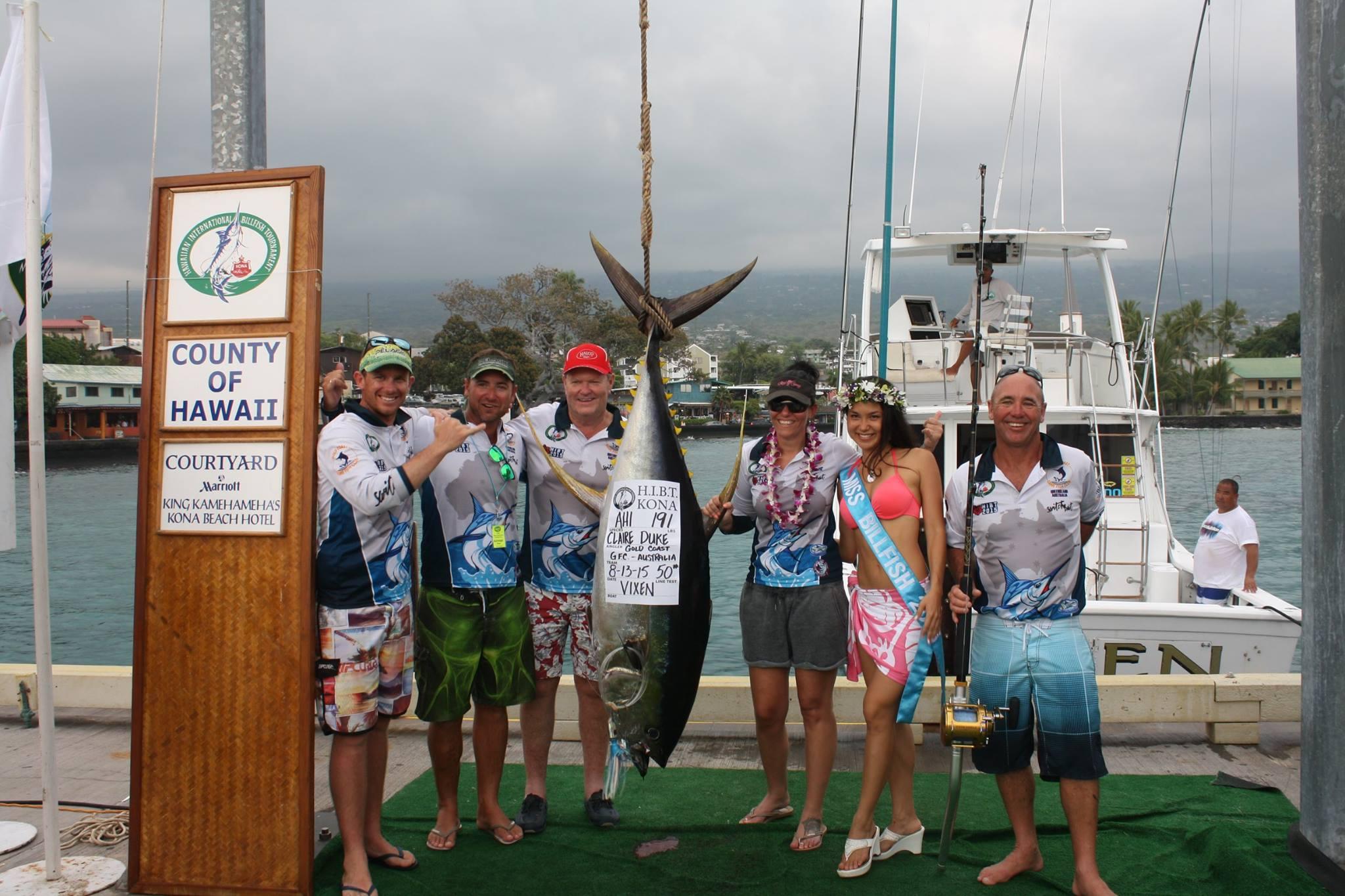 Hawaiian International Billfish Tournament Day 4