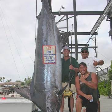 Kona fishing competes with the world