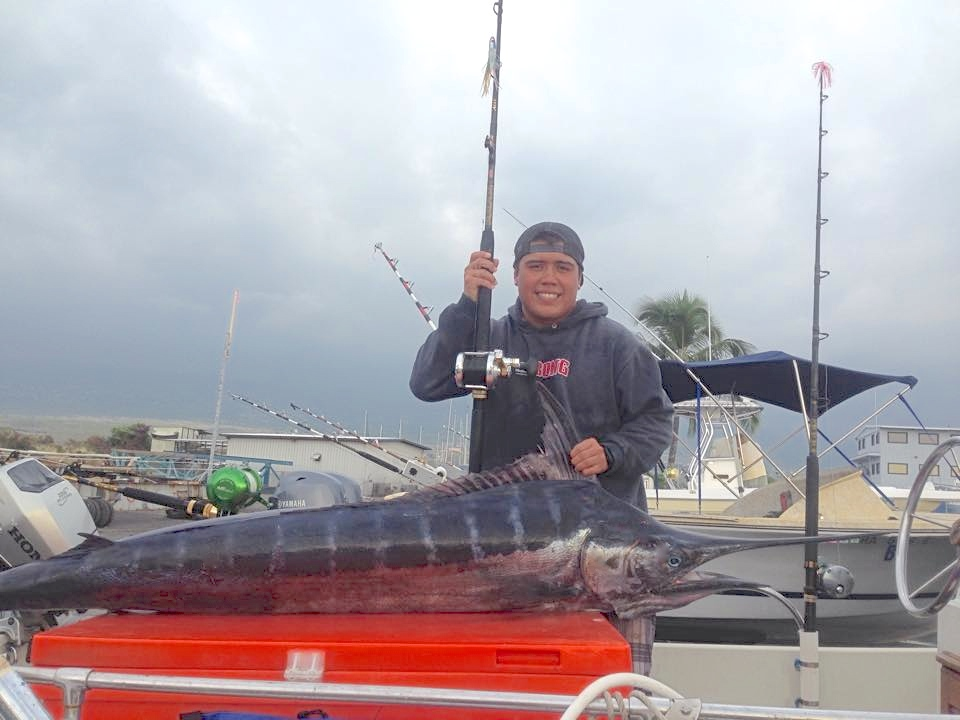 Crazy action with Kona Marlin in November