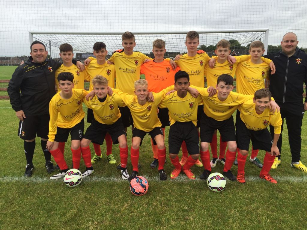 under 16 lisburn league
